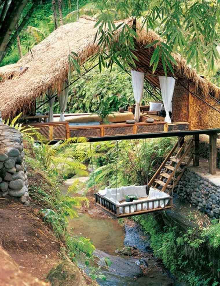 casa en los árboles original