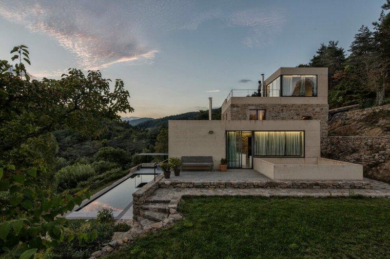 casa moderna roux