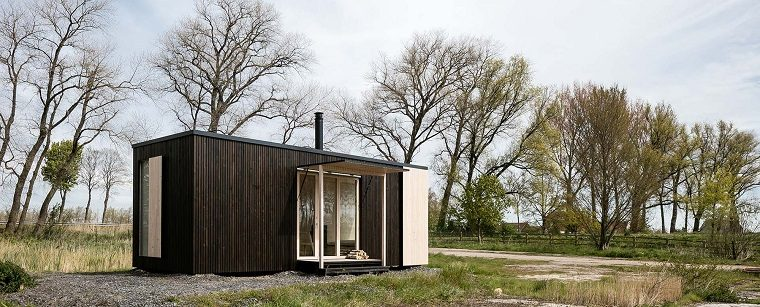casas moviles ark shelter cabana madera diseno ideas