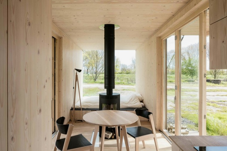 casas moviles ark shelter diseno interior ideas