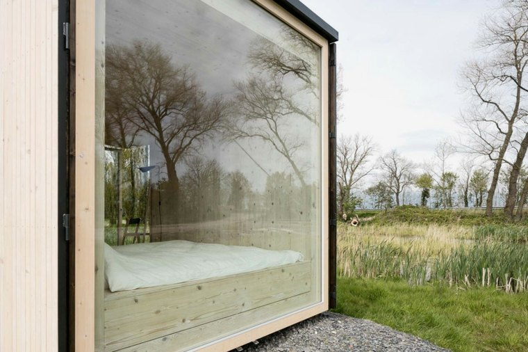 casas moviles ark shelter diseno ventana ideas