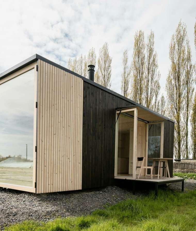 casas moviles ark shelter diseno moderno madera ideas
