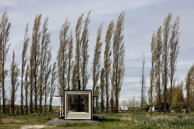 Casas móviles   la cabaña ark shelter que puede ir con usted