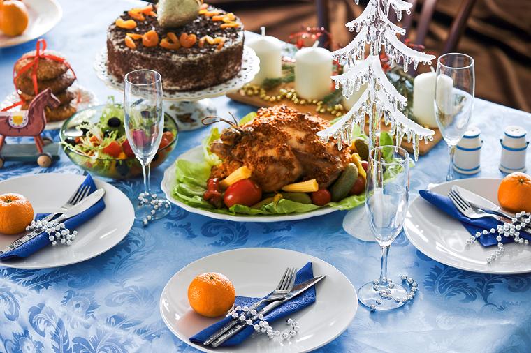 cenas navidad decoracion mesa original poco comun ideas