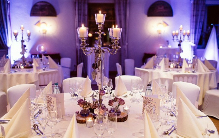 centro mesa decoracion boda invierno opciones ideas
