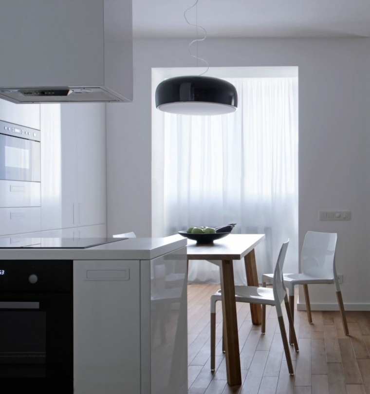 cocina comedor apartamento diseno lugerin architects ideas