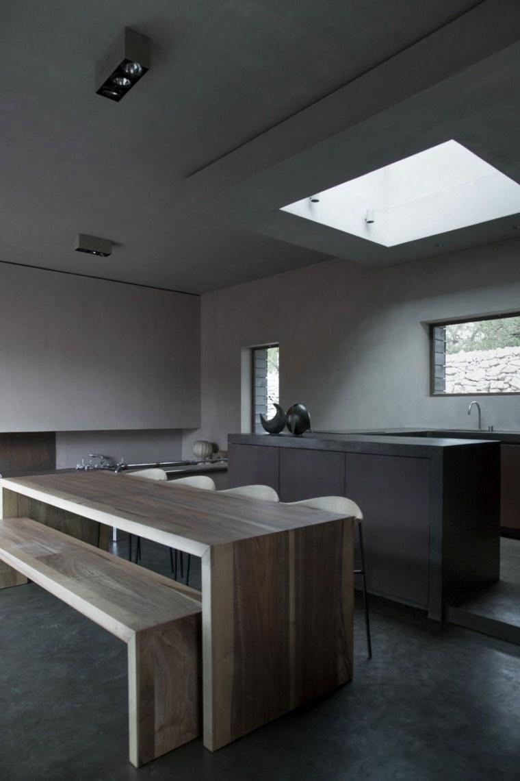 cocina comedor diseno original casa moderna ideas