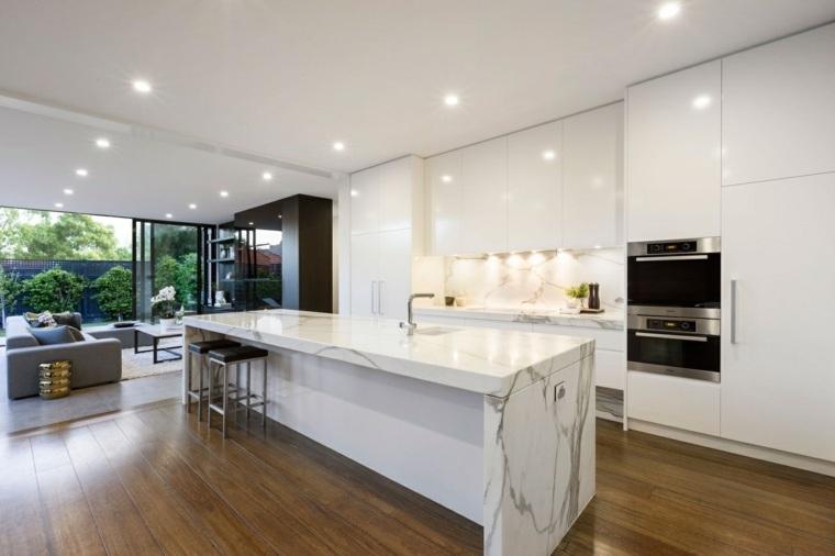 cocina moderna isla diseño lsa