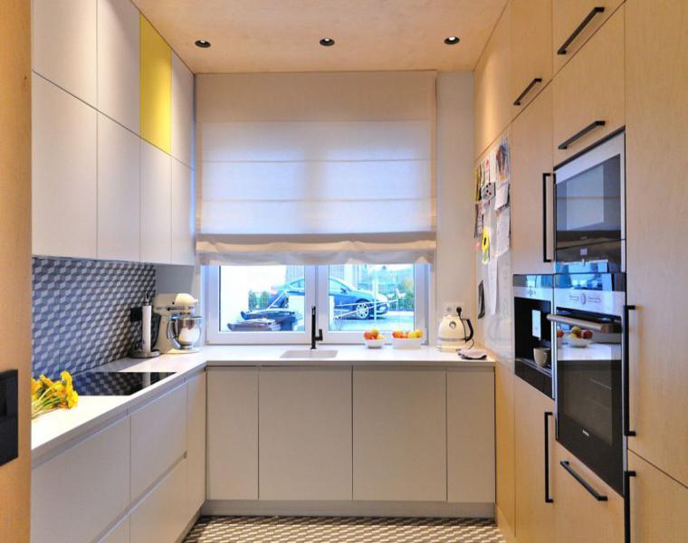 cocina pequeña estilo minimalista