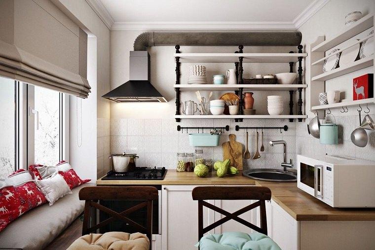 Cocinas nórdicas - 25 ejemplos del encanto escandinavo -