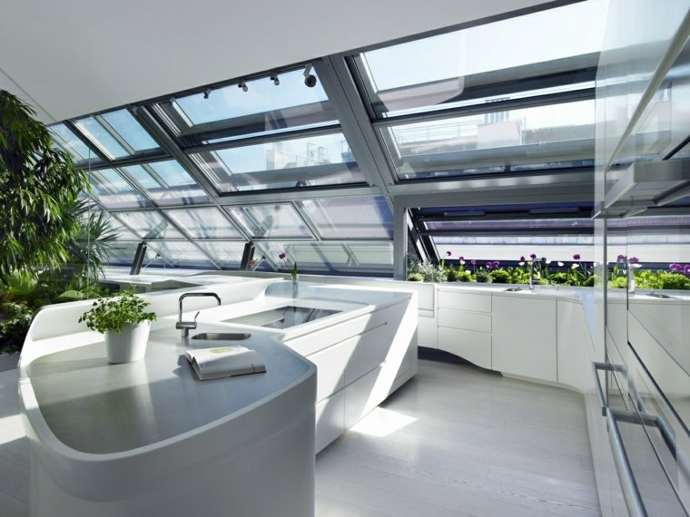 diseño cocina moderna Himacs