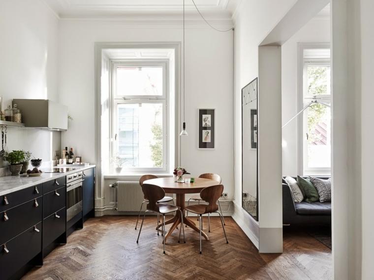 Cocinas n rdicas 25 ejemplos del encanto escandinavo - Ejemplos cocinas pequenas ...