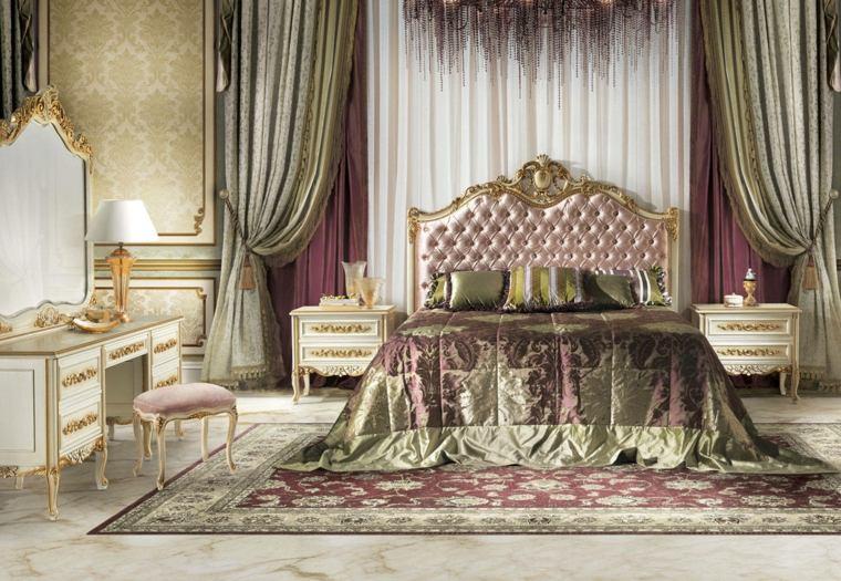 Color Rosa En Combinaci 243 N Con Dorado Para El Dormitorio