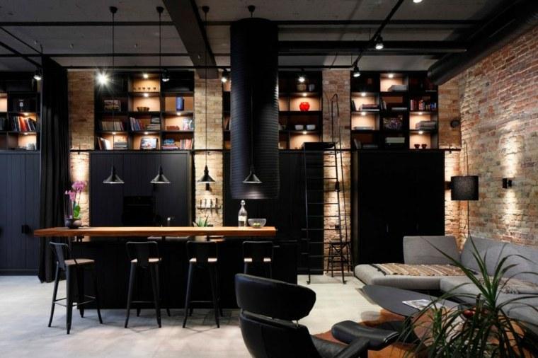 apartamento loft diseño industrial