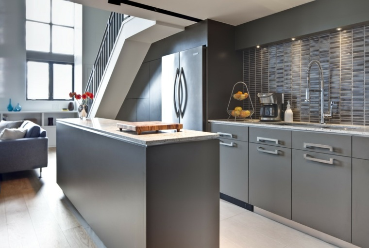 Remodelaci n de cocinas modernas y elegantes - Amueblar cocinas pequenas ...