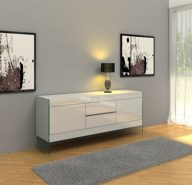 cómo decorar un aparador moderno