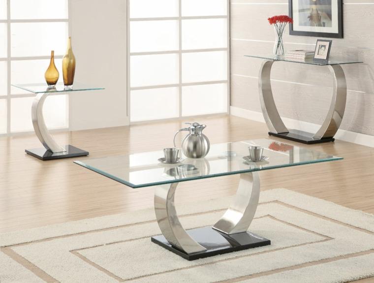 cómo decorar una mesa de centro salón