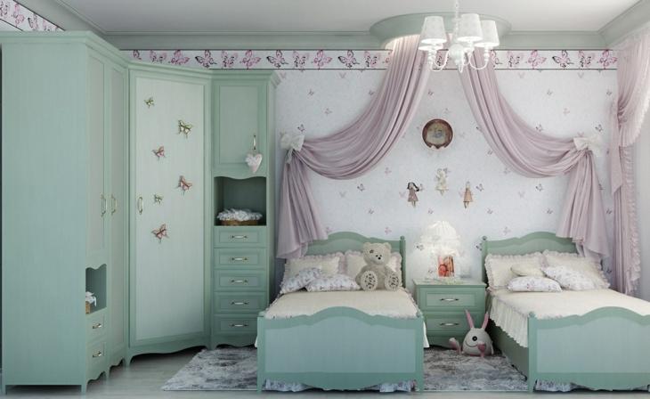 concepto paredes colores estilos mariposas