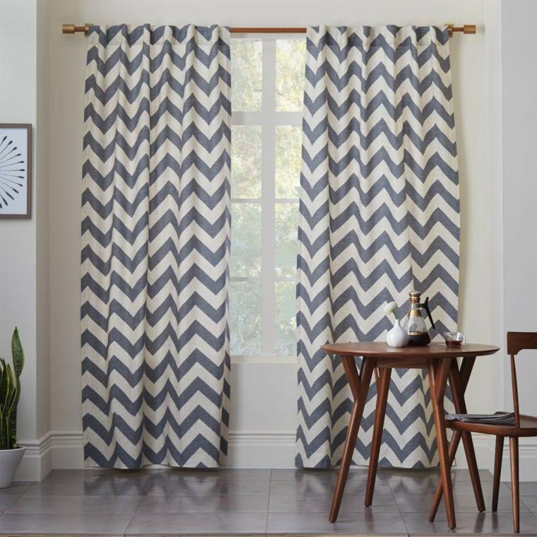 Tipos de cortinas soluciones originales para la ventana for Cortinas originales