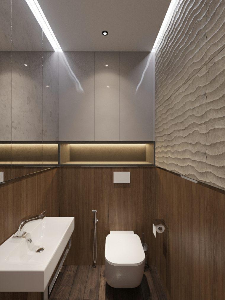 Iluminacion techo bano dise os arquitect nicos for Techos para banos pequenos