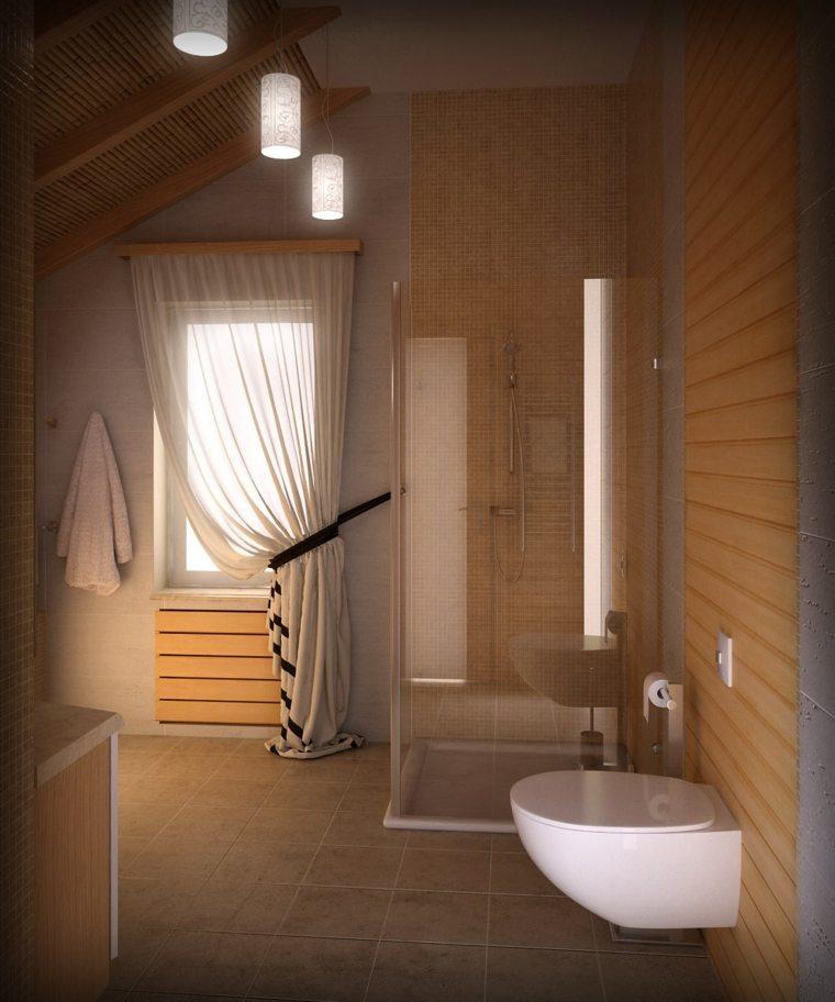 cuarto bano minimalista moderno beige ideas
