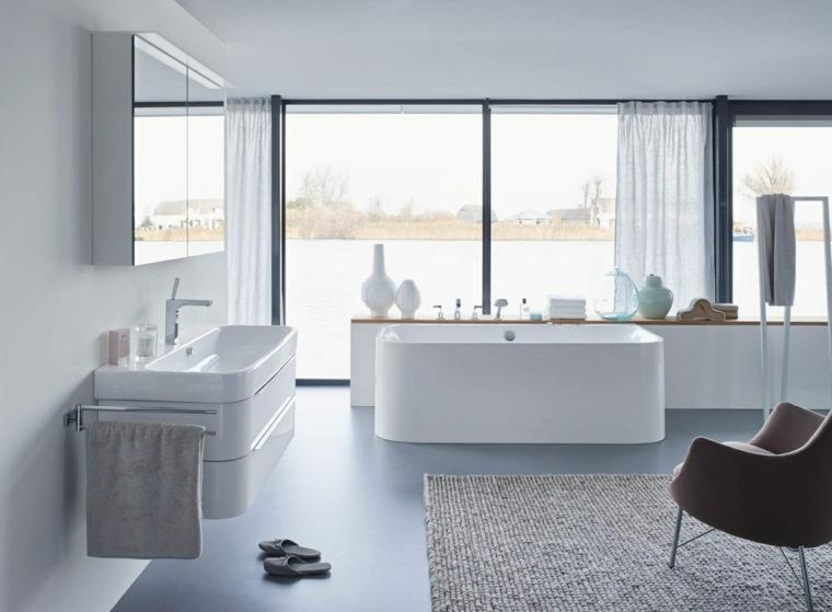 cuarto bano minimalista moderno diseno bonito ideas