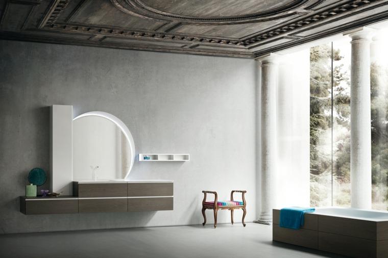 Cuarto de ba o minimalista y moderno for Muebles diseno minimalista