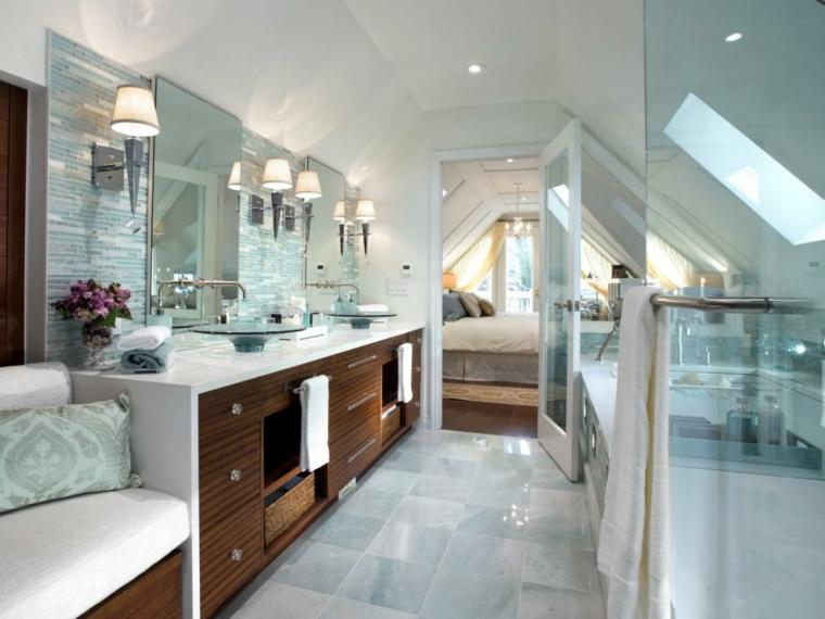 cuarto de baño diseño lujoso