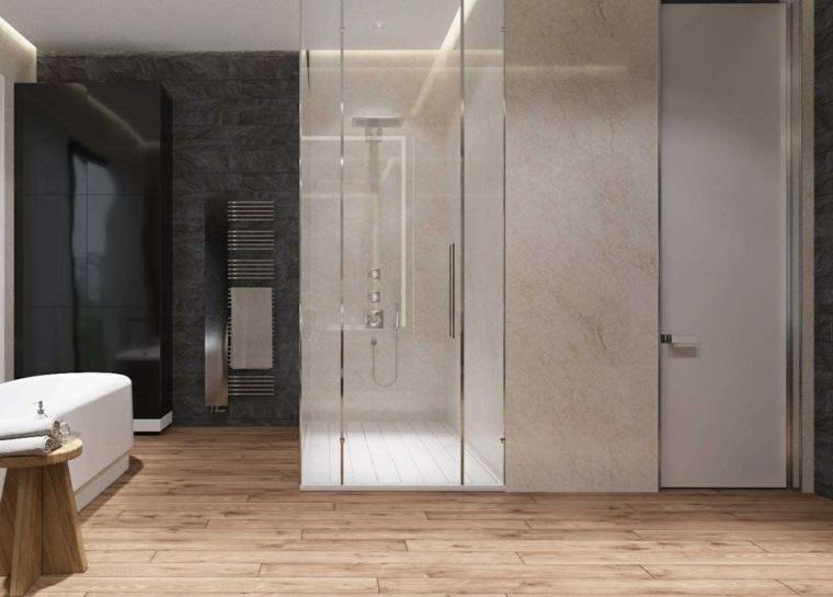 cuarto de bano minimalista moderno diseno amplio ideas