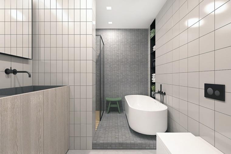 cuarto de bano minimalista moderno diseno atractivo ideas