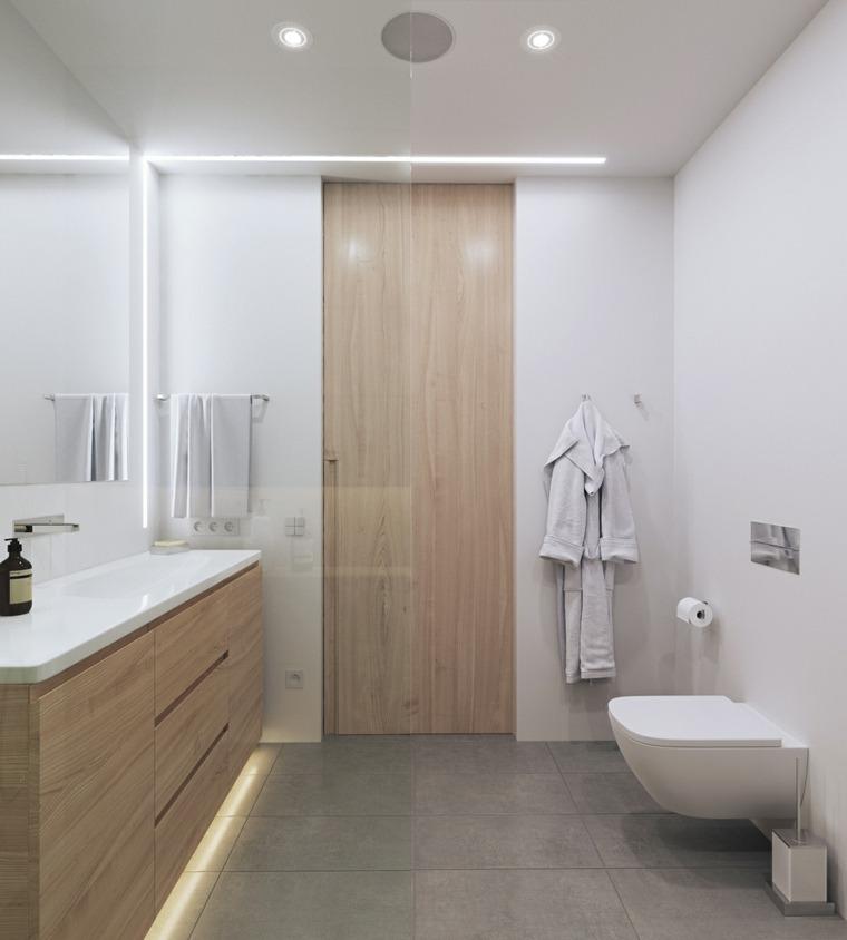 cuarto de bano minimalista moderno diseno estilo simple ideas