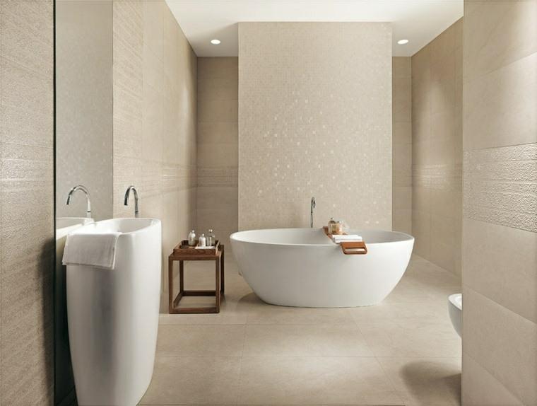 cuarto de bano minimalista moderno diseno muebles porcelana ideas