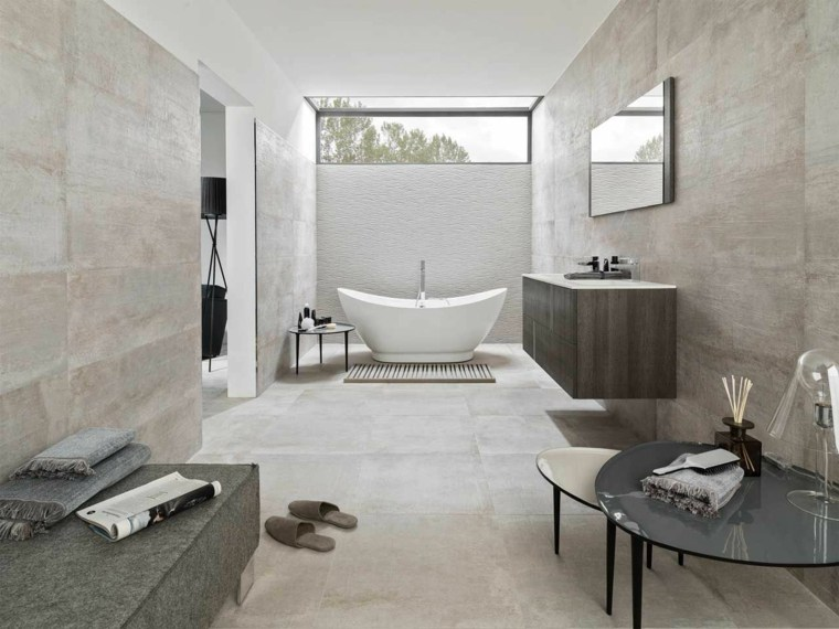 cuarto de bano minimalista moderno diseno original ideas