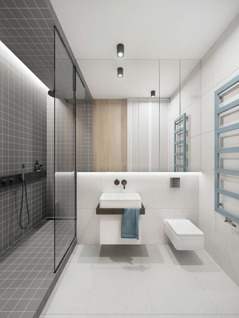 Cuarto de ba o minimalista y moderno - Cuarto bano diseno ...