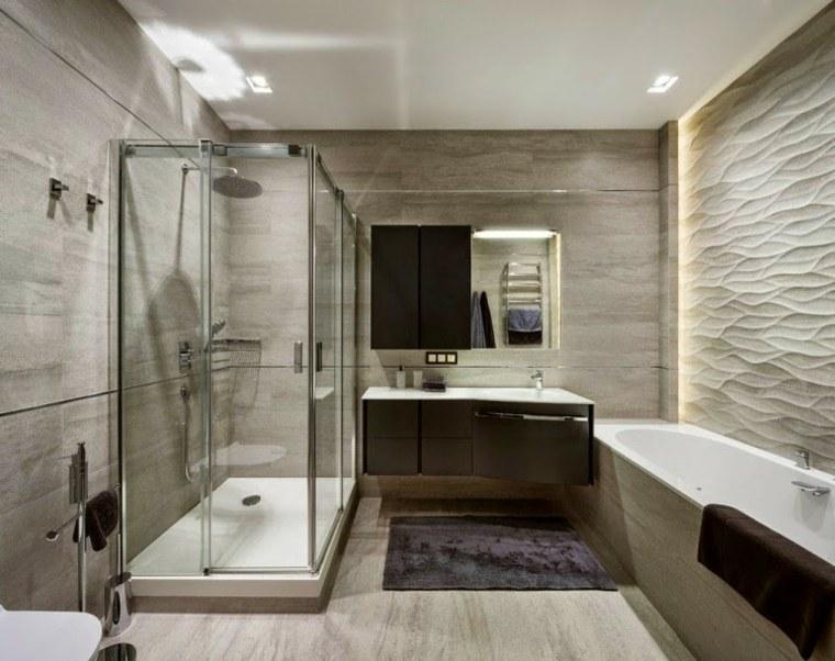 cuarto baño luces indirectas