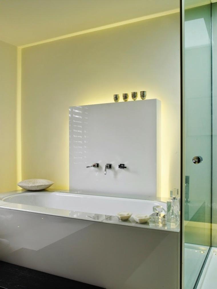 cuarto baño luces Led