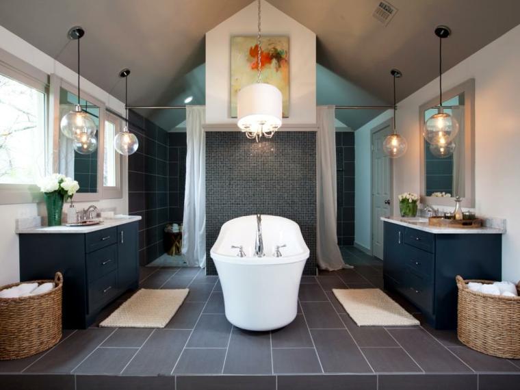 decoracion baños ideas partes muebles materiales