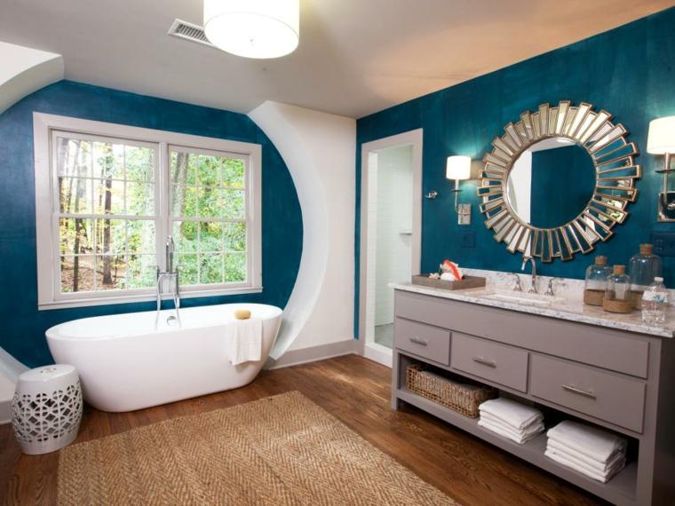 decoracion baños ideas tonos paredes fuentes