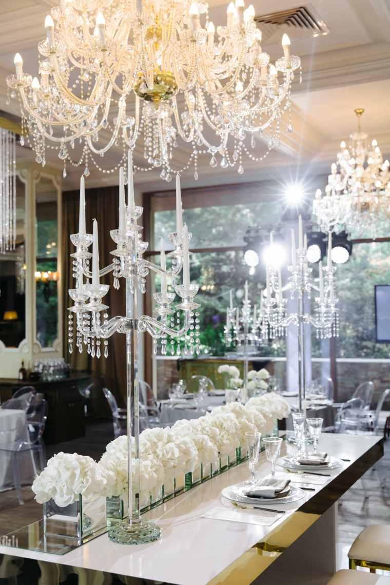 decoracion boda invierno diseno moderno lujoso ideas