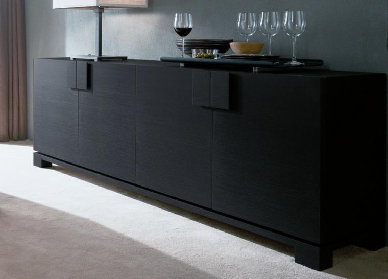 Decorar aparador para un interior moderno - Aparadores modernos para comedor ...