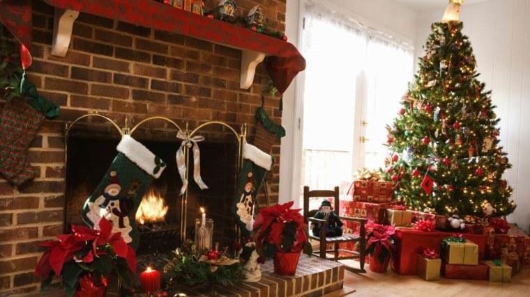 decoración de árbol de navidad interior