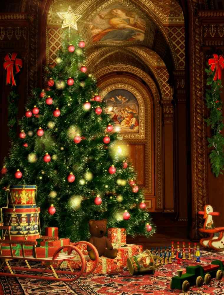 decoración de árboles de navidad bellos