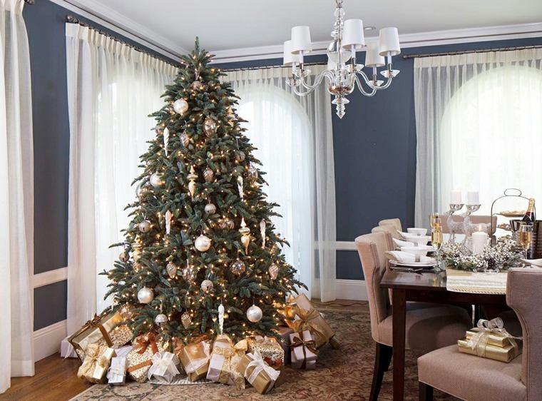 decoración de árboles de navidad interior
