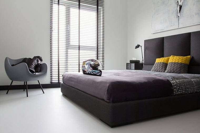 decoración de interiores modernos negros