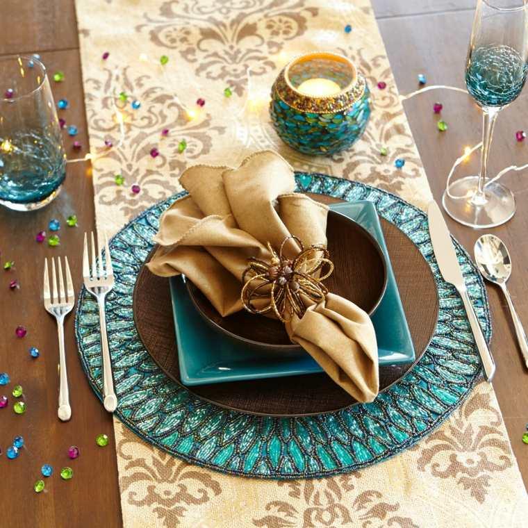 decoración de mesas navidad