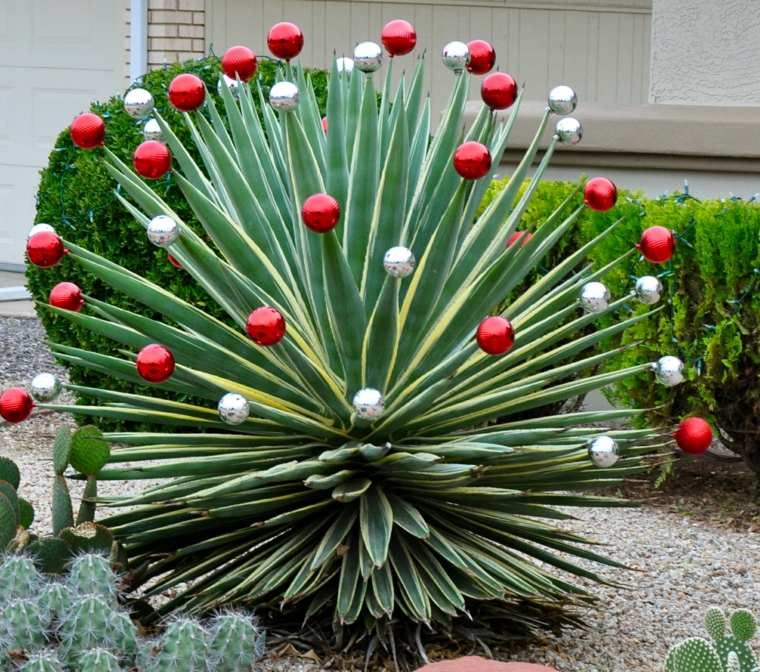 decoración de navidad exteriores