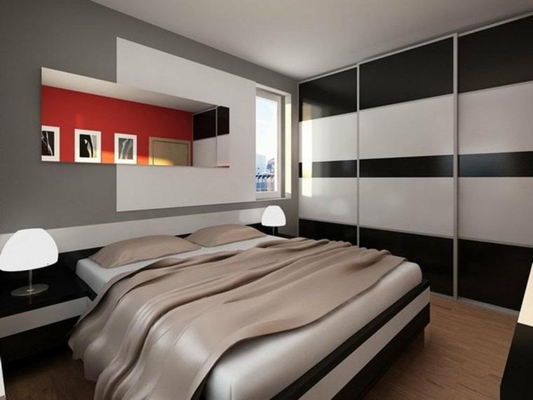 decoración de paredes para dormitorios modernos