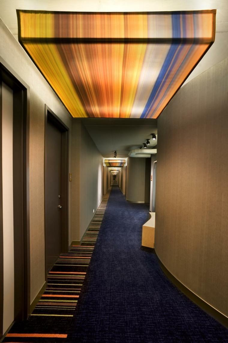decoración de pasillos largos estrechos