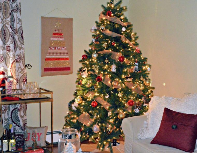 Decoración De árboles De Navidad Para El Interior