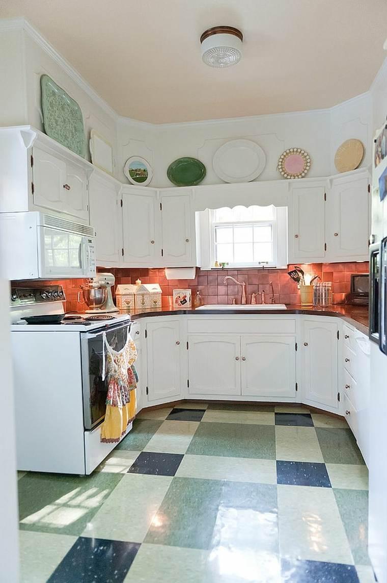 decoración en la cocina salpicadero